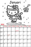 hello-kitty  kalender 2015