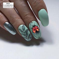 Foil Nail Art, Foil Nails, Toe Nail Color, Nail Colors, 3d Nail Designs, Les Nails, Spring Nail Art, Autumn Nails, Finger