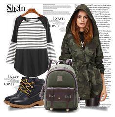 """SheIn 2"" by amrafashion ❤ liked on Polyvore"