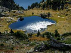 Lac de derrière la Croix -Mercantour