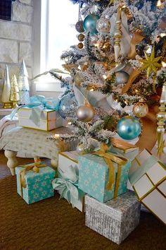Christmas Tree and Presents ~