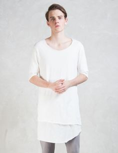 thom/krom Double Layer T -Shirt