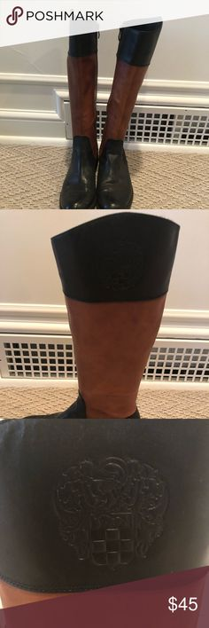 Vince Camuto tall leather riding boots Very light wear  Open to offers Vince Camuto Shoes Over the Knee Boots
