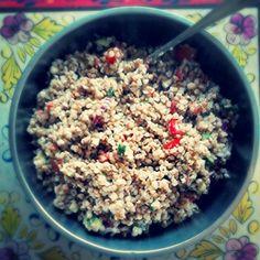 Tabouleh van boekweit #glutenvrij en snelle #koolhydraatarm by kokkie anoukie