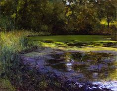 Thistles (also known as The Pond)  Adolph Shulz