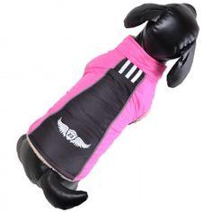 Die neue Hundebekleidung von GogiPet ist eingetroffen. Warme Hundebekleidung zu günstigen Preisen in hochwertiger Qualität. Winter, Pink, Mandarin Collar, Jackets, Winter Time, Winter Fashion