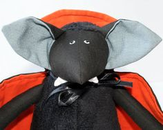 Hey, I found this really awesome Etsy listing at https://www.etsy.com/listing/162775331/vampire-bat-for-halloween-stuffed-toy
