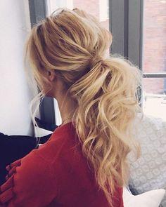 Playful ponytail