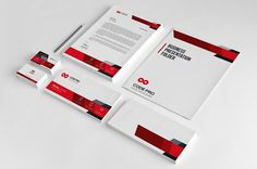 Corporate Business Stationary by Creative Idea on @creativemarket