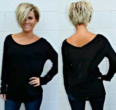 ♥ ♥ ♥ ♥ ️ Short Hair Tutorials for 2019 ♥ ♥ ♥ ♥ ♥ - Top Trends Short Bobs Haircuts Look Sexy and Charming! New Haircuts, Short Bob Hairstyles, Cool Hairstyles, Baddie Hairstyles, Easy Hairstyle, Undercut Hairstyles, Hairstyle Ideas, Hair Dos, My Hair