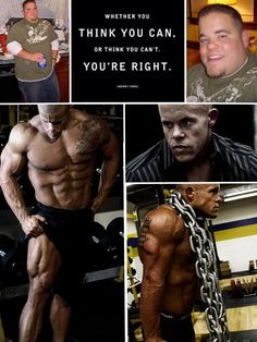 I find this interesting because its a transformation ad with a motivational mental message. for men