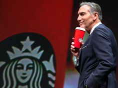 Starbucks has become a target of Trump-loving conservatives and that's great news for the brand (SBUX) Howard Schultz, Trump Love, Starbucks, Coffee Cups, How To Become, Celebs, News, Politicians, Target
