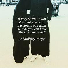 Have faith in Allah, have faith in HIS plans.