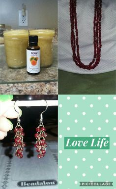 🌹PaulinezPlace🌹  Handmade Products  Beautiful Handmade Jewelry Organic Exfoliating Scrubs   If you like any of these items or want to check out more, your can comment here ⬇ or you can come by PaulinezPlace on Etsy. 😊 https://www.etsy.com/shop/PaulinezPlace