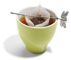 dragonfly tea holder