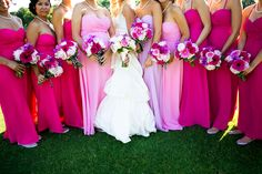 OMBRE PINK Dresses