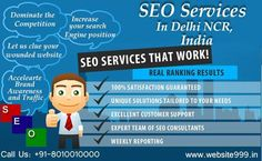 #Website999 is a proficient #SEO_Services provider in #Delhi_NCR, offering a wide array of #SEO services, which help in increasing #visibility and boosting #ranking. To know more visit @ http://ow.ly/IfKD6