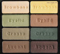 Scrangie: Black Radiance Urban Jungle Palette made by the same company that makes Wet n Wild---beautiful on hazel eyes