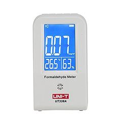 Gardening  UNIT UT338A Formaldehyde Monitor Detector Formaldemeter Temperature Humidity Moisture Meter with Alarm ** Find out more  on Amazon website by clicking the VISIT button