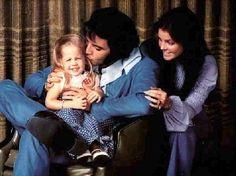 Picks of Elvis Presley and  Lisa Marie Presley | Elvis Presley Family Photo Album