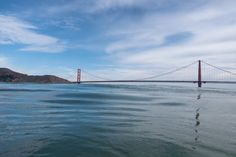 sf bay bridge seen from water - Google Search Golden Gate Bridge, Google Search, Water, Travel, Gripe Water, Viajes, Destinations, Traveling, Trips