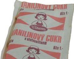 Vanilinový cukr (Kčs 1,-)