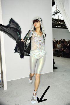 Manish Arora Backstage, more photos here, > http://sonnyphotos.com/2014/09/manish-arora-ss15-fashion-show-paris-backstage