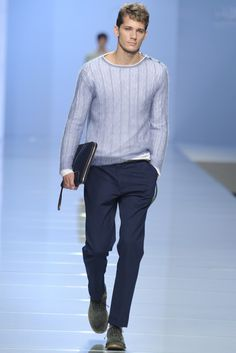 Ermanno Scervino SS13    Love the relaxed feel of this look!