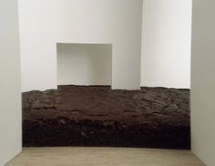 """mmmm...the brownie room. Paul Shore and Nicole Root, """"New York Brownie Room (After Walter De Maria),"""" 2010."""