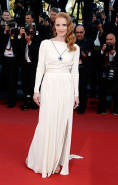 Jessica Chastain Photos - 'Cleopatra' Premieres in Cannes - Zimbio