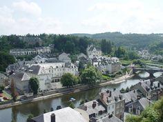 Belgium, Bouillon as seen from the castle