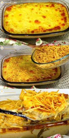 FRICASSÊ DE CARNE MOIDA FÁCIL E RÁPIDO #fricassedecarne #carnemoida #fricasse #fricassedecarnemoida #almoco #jantar #cozinha #receita #receitafacil #receitas #comida #food #manualdacozinha #aguanaboca #alexgranig Pizza Recipes, Meat Recipes, Snack Recipes, Cake Recipes, Snacks, Pizza Pictures, Other Recipes, Diy Food, Macaroni And Cheese