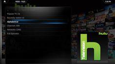 Walk-through on how to integrate Hulu into XBMC