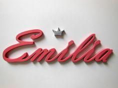 Dekoration - Name oder Schriftzug nach Wunsch - ein Designerstück von Designsouris bei DaWanda