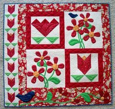 Quilt in the Garden.  Love it. Need pattern :)