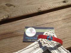 Stocking Stuffer Girls Red Elmo Skinny Charm Bracelet on Etsy, $4.00