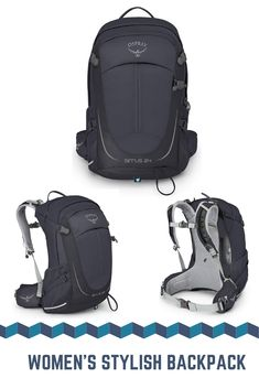 Check out this latest stylish backpack that perfectly fits on womens traveling and camping trip. It comes with a large storage space and a lot of features. Women's Backpacks, Stylish Backpacks, Hiking Backpack, Traveling, Camping, Space, Storage, Fitness, Check