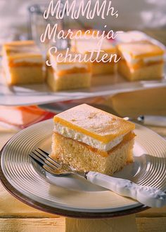The passion fruit cuts taste very refreshing, reports Martina Brüning a . Easy Brunch Recipes, Best Breakfast Recipes, Dessert Recipes, Bruschetta Bar, Churro French Toast, French Toast Bake, Toast Pizza, Chocolate Lasagna, Best Chocolate Cake