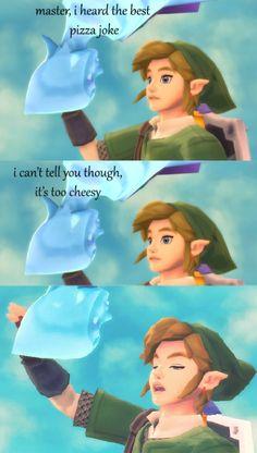 the-feels-train:  Zelda dad jokes AHAHAHAHAHA