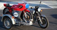 1977 BMW R100/7 and 1975 MV Agusta 350 Corsa