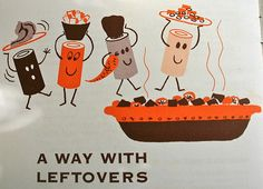 A Way With Leftovers ~ vintage illustration