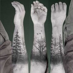 forearm-tree-tattoo-2.jpg 635×637 pixels