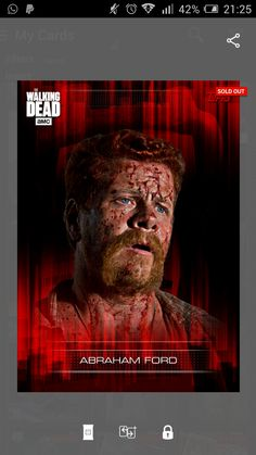super Bloodied up Abraham Ford 2016