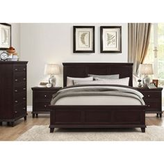 Woodrow Road 6 Piece Cal King Bedroom Set Around The House Pinterest More King Bedroom And