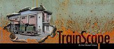 TrainScape: Paso a nivel de Peñuelas 11º Ho Scale Train Layout, Ho Scale Trains, Model Train Layouts, Wire Art Sculpture, Hobby Trains, Brick Design, Miniature Rooms, Model Trains, Tractor