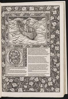 The works of Geoffrey Chaucer : now newly imprinted : Printed by William Morris at the Kelmscott Press