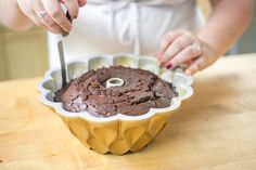 Stuck Bundt via @kin