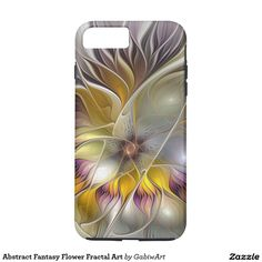 Abstract Fantasy Flower Fractal Art iPhone 7 Plus Case