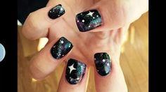 Spacey Stacey galaxy nails | NAILPRO User Gallery Nine Inch Nails, Galaxy Nails, Polish, Nail Art, Gallery, Beauty, Vitreous Enamel, Roof Rack, Nail Arts