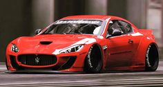 Following a wide array of modified high-end exotics, Liberty Walk continues its radical tuning streak with the Maserati GranTurismo. Description from friendsmania.net. I searched for this on bing.com/images